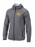 U.C. Berkeley Cal Bears  embroidered Columbia Full Zip hoodie jacket-Navy