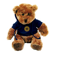 "U.C. Berkeley Cal 10"" Plush teddy bear with hoodie-Tan-Shop College Wear"