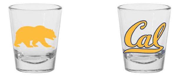 UC Bekerkeley Cal Shot Glass 1.5oz -CLear-Shop College Wear