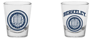 UC Berkeley Cal 1.5 Oz. Shot Glass- Clear
