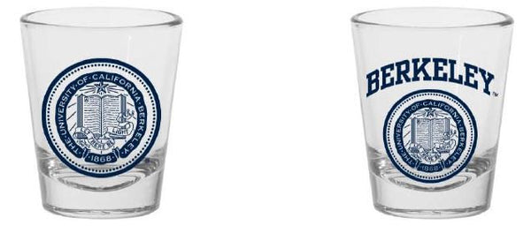 UC Berkeley Cal 1.5 Oz. Shot Glass- Clear-Shop College Wear