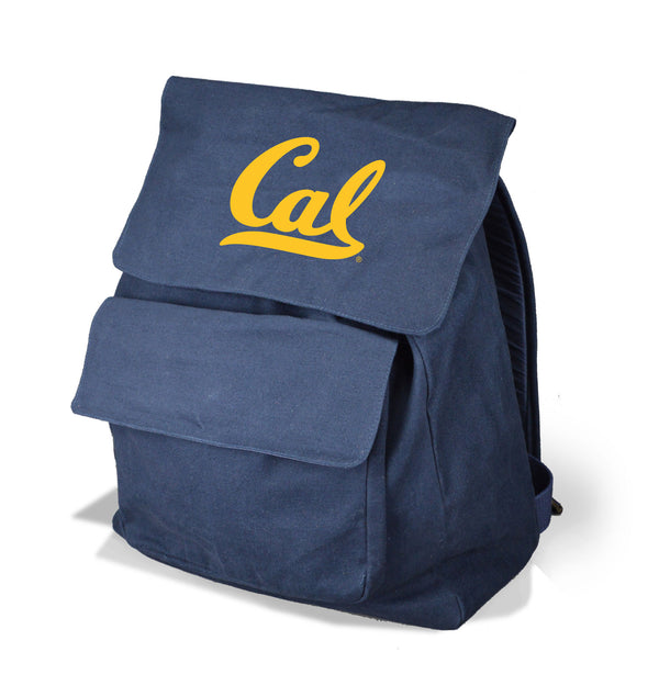 U.C. Berkeley Cal Canvas knapsack - Navy-Shop College Wear