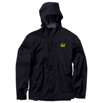 UC Berkeley Cal embroidered Men's Water Resistance jacket-Navy