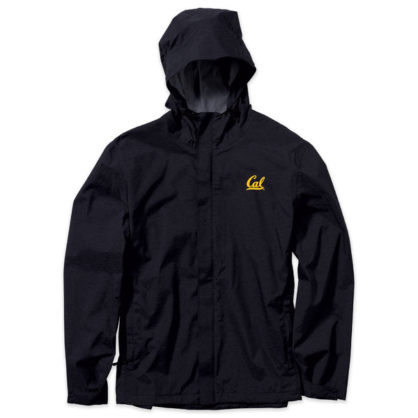 UC Berkeley Cal embroidered Men's Water Resistance jacket-Black-Shop College Wear