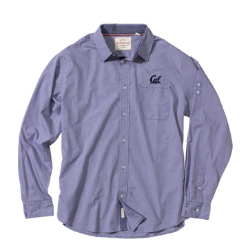 UC Berkeley Cal embroidered Men's Button Down Shirt - Navy