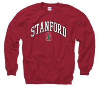 Stanford Cardinal Men's Tall font Sweatshirt-Cardinal-Shop College Wear