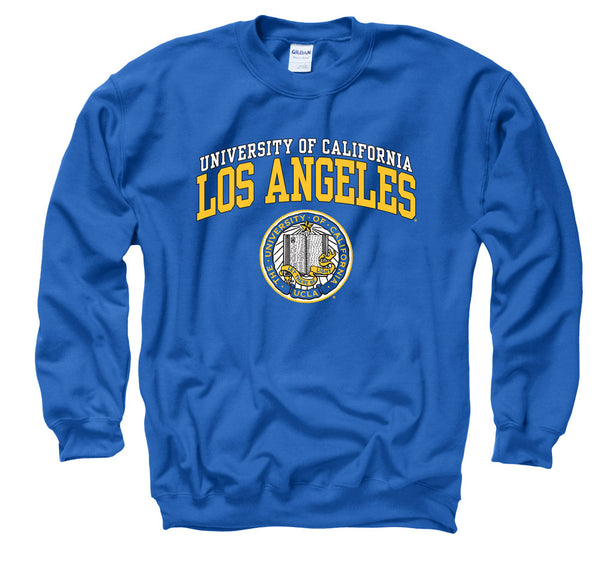 UCLA Bruins Double Arch Men's Sweatshirt- Blue-Shop College Wear