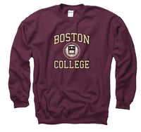 Boston College Men's Crew-Neck Sweatshirt-Maroon-Shop College Wear