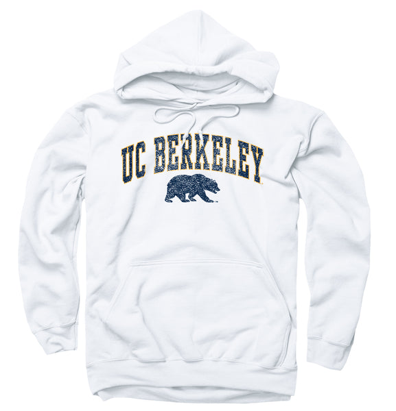 UC Berkeley Unisex Hoodie-Sweatshirt-White-Shop College Wear