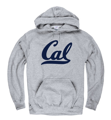 UC Berkeley Cal Men's Hoodie Sweatshirt - Grey