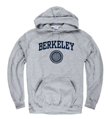University Of California Berkeley Arch & Seal Men's Sweatshirt- Grey