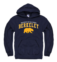 U.C. Berkeley Cal Bears Hoodie Sweatshirt-Navy-Shop College Wear