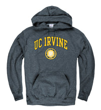 UC Irvine Men's Hoodie Sweatshirt-Charcoal-Shop College Wear