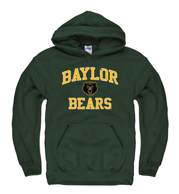 Baylor Bears  Men's Hoodie Sweatshirt- Green