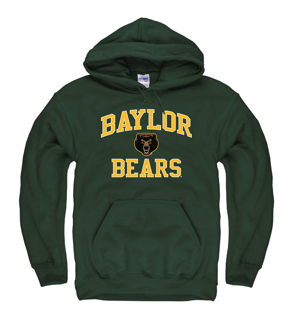 Baylor Bears Men's Hoodie Sweatshirt- Green-Shop College Wear