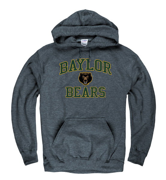 Baylor Bears Hoodie Sweatshirt-Charcoal-Shop College Wear