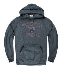 University Of Washington Huskies Men's Hoodie Sweatshirt-Charcoal-Shop College Wear