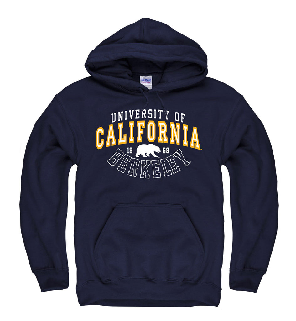 UC Berkeley Cal Men's Hoodie Sweatshirt - Navy-Shop College Wear