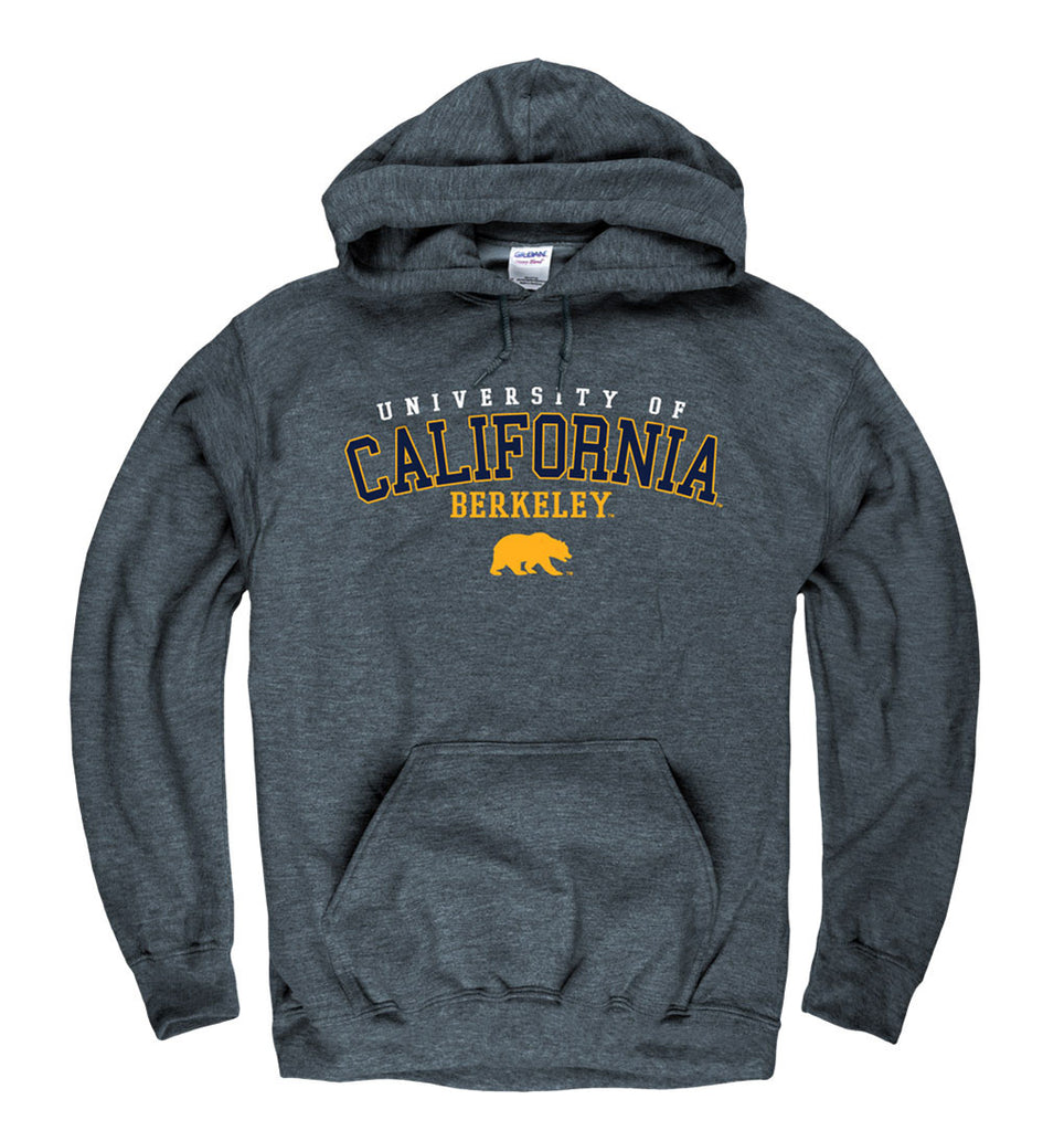 UC Berkeley Cal Men's Hoodie Sweatshirt -Charcoal-Shop College Wear