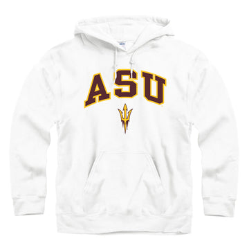 Arizona State University ASU hoodie sweatshirt-White