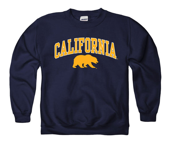 UC Berkeley Cal Youth Sweatshirt - Navy-Shop College Wear
