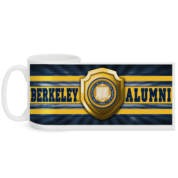 UC Berkeley Alumni 15 Oz. Coffee Mug  - WHITE
