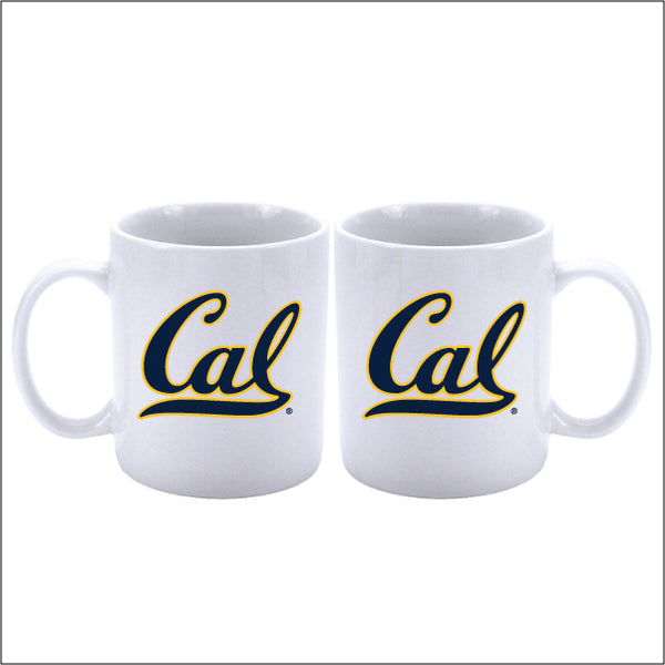 University Of California Berkeley Cal Coffee Mug-11 Oz.-White-Shop College Wear