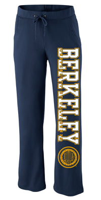 UC Berkeley Cal Women's Pants - Navy-Shop College Wear