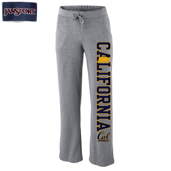 UC Berkeley Cal Jansport Women's Dreamer Pants- Gray-Shop College Wear
