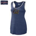 UC Berkeley Women's Jansport Tri Blend Cal Tank Top - Navy