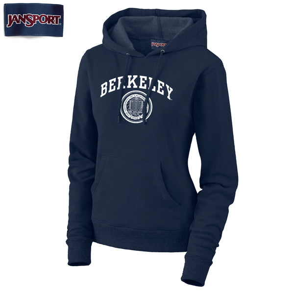 UC Berkeley Jansport Women's Hoodie Sweatshirt - Navy-Shop College Wear