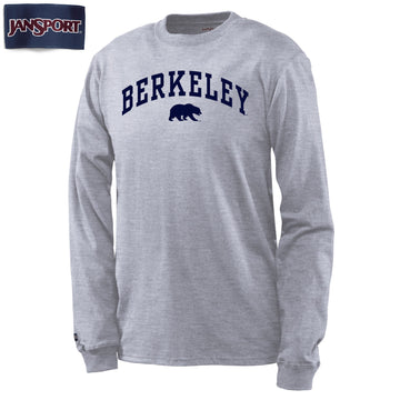 UC Berkeley Cal Men's Long Sleeve T-Shirt-Gray