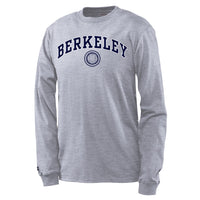 UC Berkeley Men's Long sleeve T-Shirt - Grey-Shop College Wear