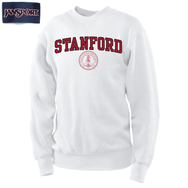 Stanford University Men's Sweatshirt-White-Shop College Wear