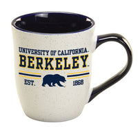 U.C. Berkeley Cal 16oz. granite mug-Navy-Shop College Wear