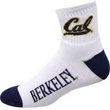 UC BerkeLey Cal Men's socks-White