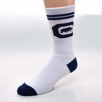 UC Berkeley Cal Socks - White