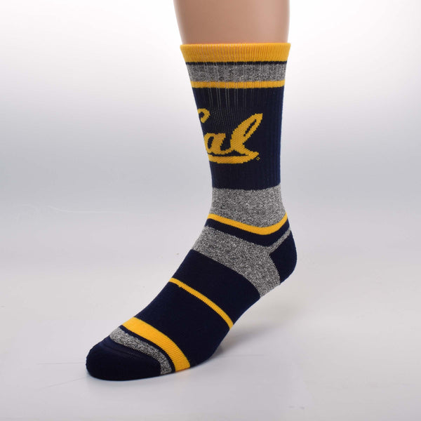 UC Berkeley Cal Marble Socks-Shop College Wear