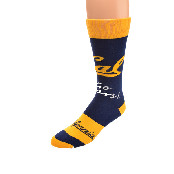 U.C. Berkeley Cal Bears socks-Navy-Shop College Wear