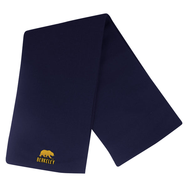 UC Berkeley Cal Solid Scarf- Navy-Shop College Wear