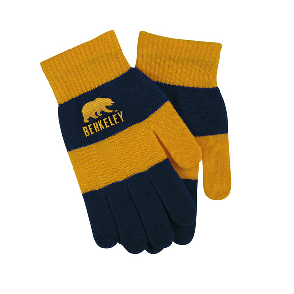UC Berkeley Cal Trixie Glove - Gold-Shop College Wear