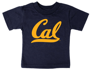 UC Berkeley Cal Script Infant T-Shirt - Navy