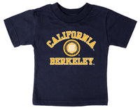 UC Berkeley Cal Multi Color Seal Toddler T-Shirt - Navy-Shop College Wear