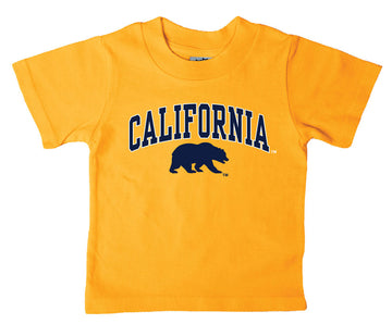 UC Berkeley Cal Toddler T-Shirt-Gold