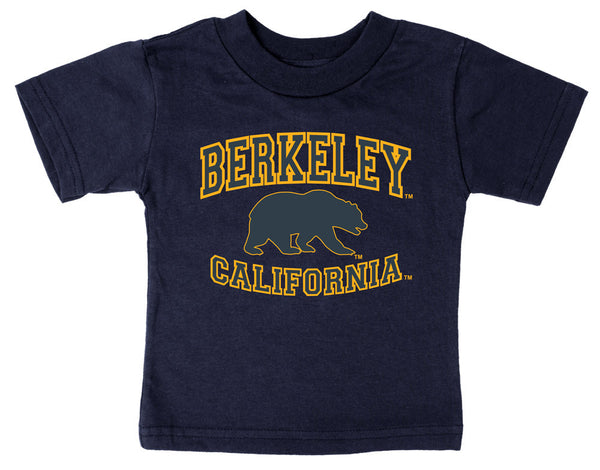 UC Berkeley Cal Toddler T-shirt-Navy-Shop College Wear