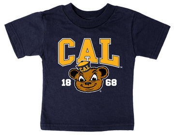 UC Berkeley Cal Oski Infant T-Shirt - Navy