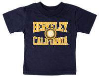 UC Berkeley Cal Multi Color Imposed Seal - Navy-Shop College Wear