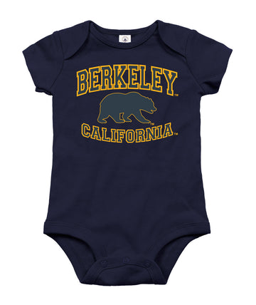 UC Berkeley Cal Infant Onesie - Navy