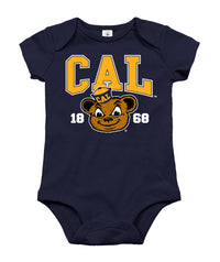 UC Berkeley Cal Oski Infant Onesie - Navy-Shop College Wear