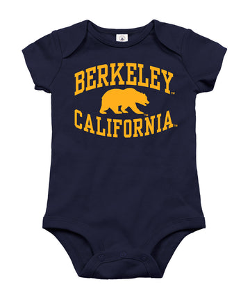 University Of California Berkeley Infant Onesie-Navy